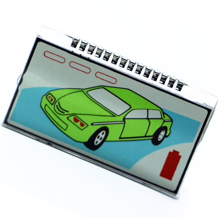 Russia version M4 lcd display for Scher khan magicar 4 lcd remote controller two way car