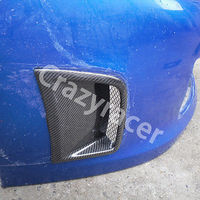 Carbon Fiber Side Air Vent Air Dams Cover For Subaru Impreza WRX STI 09 10