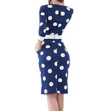 Polka Dot Dress Women Summer Casual Bodycon Sexy Party Dresses
