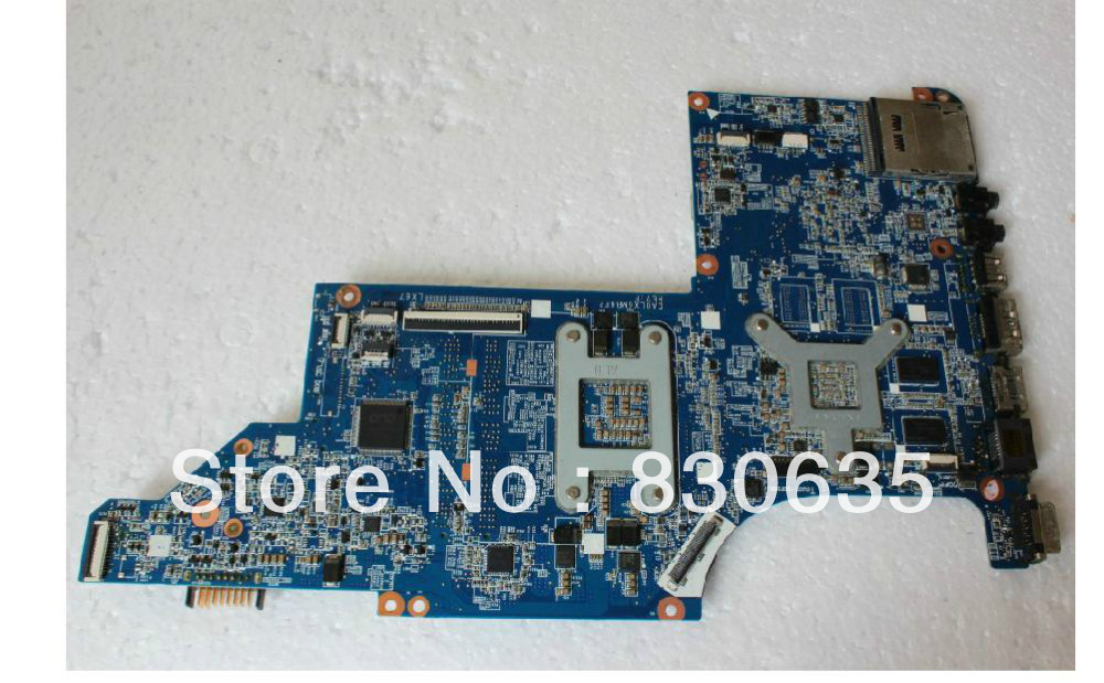 все цены на  603643-001 lap motherboard G4 G6 CQ42 G42 DV7 DV4 motherboard full test lap connect board  онлайн