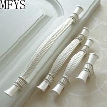 Серебристо-белые хрустальные ручки для шкафа, дверные ручки, стразы для ящика, комода, стеклянные ручки для шкафа 128 160 192 224 мм