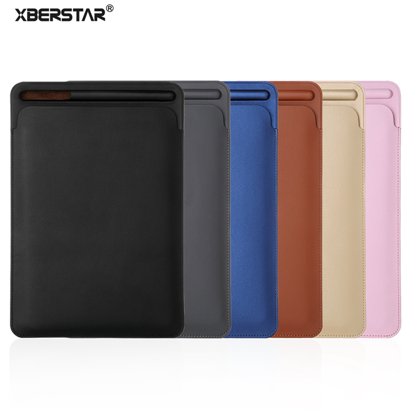 XBERSTAR Bag Cases for Apple Pencil for i Pad Pro 10.5/9.7 inch Case Pu Leather Protector Sleeve Cover Holder Pouch