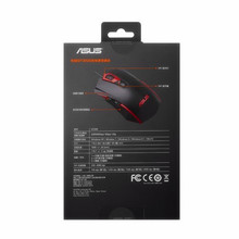 100% ASUS GT200 Computer Gaming Mouse ADNS-3050 Optical 4000dpi USB Wired Mechanical Durability RGB Lighting For PC Laptop