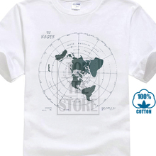 Map Of The Earth Mens Navy T Sh