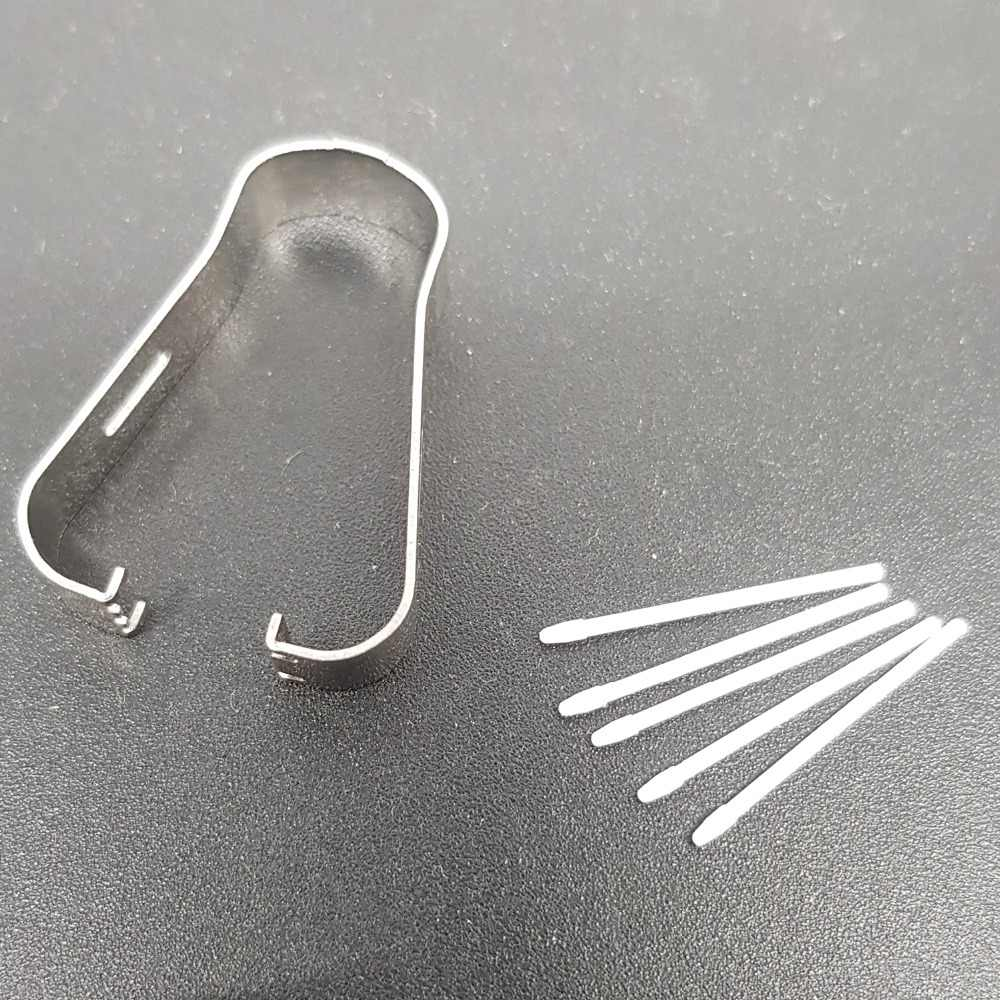 """TEHXV 1 حزمة إزالة الملقط أداة اللمس القلم S القلم نصائح لسامسونج غالاكسي تبويب S3 SM-T820 T820 T825 9.7 """"أسود أبيض رمادي"""