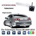 Kamera tylna do Volkswagen Passat B6 2006 ~ 2010 CCD Night Vision kamera RCA/tablica rejestracyjna led kamera cofania