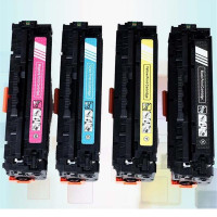 CE410A CE411A CE412A CE413A Color Toner Cartridge Compatible For For HP LaserJet Pro 300 400 Color