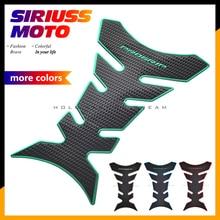 Universal 3D Rubber Motorcycle Tank Pad Protector Sticker Case for Kawasaki NINJA 250R 300R 400R 650R 1000 ZX6R ZX9R ZX10R