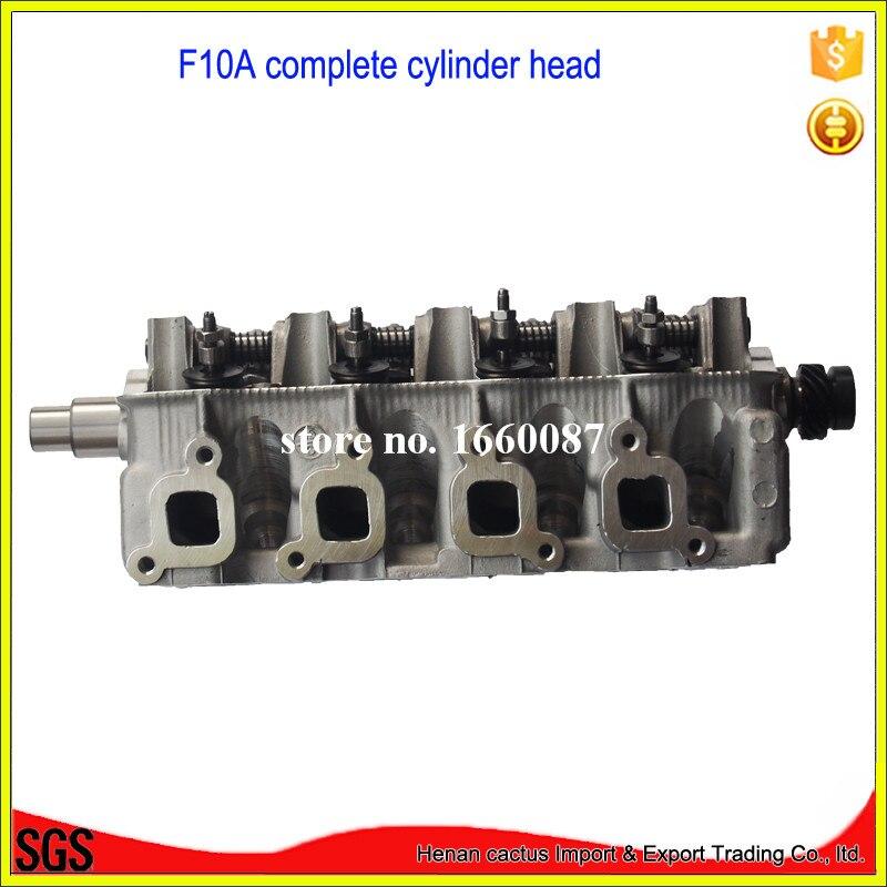 Cabezal de cilindro F10A assy F10A motor 11110-80002 para Suzuki SJ410