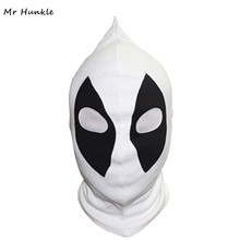 цена на New U.S Deadpool Masks JLA Balaclava Halloween Cosplay Costume X-men Hats Headwear Arrow Deathstroke Rib Fabrics Full Face Mask