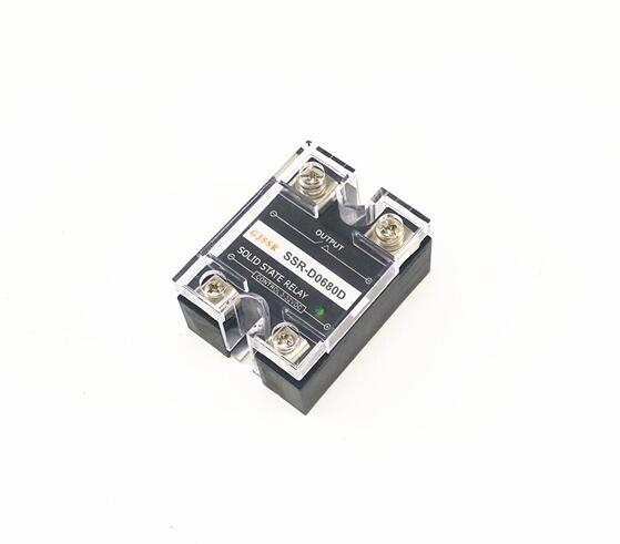 Single-phase DC solid state relay SSR-DD 80A 60VDC/110VDC DC-DC normally-open ssr mgr 1 d4860 meike er normally open type single phase solid state relay 60a dc ac