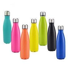 Swell Flasche Thermos 500 ml Edelstahl Vakuum Swell Wasserflasche Outdoor Sports Fahrrad Reise Thermobecher Koks/Cola stil