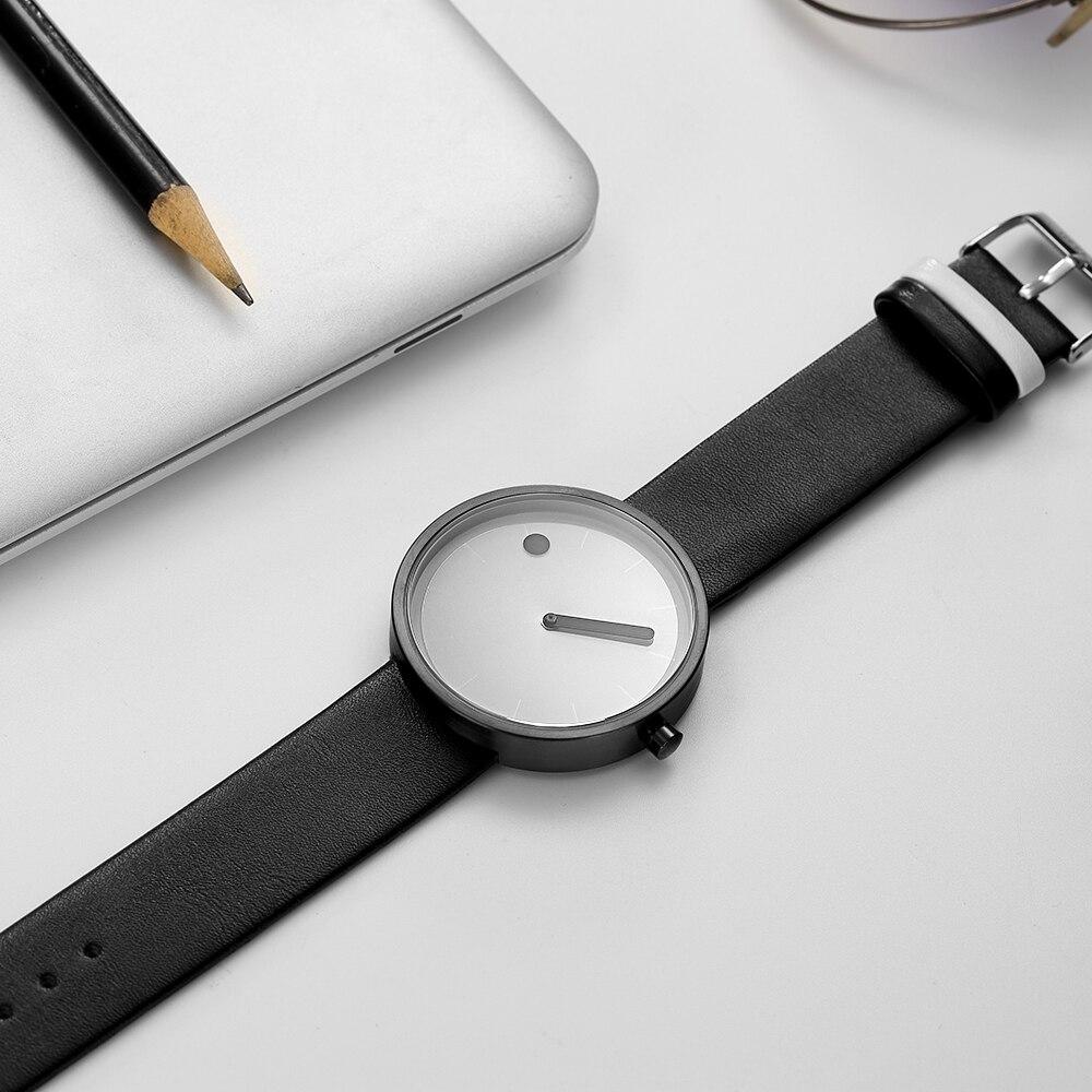 c2d7db77bfa96c GEEKTHINK nowy moda proste projektant kreatywny zegarek kwarcowy mężczyzna  luksusowego przypadkowego czarny japonia analogowy mężczyzn zegar Relogio  ...