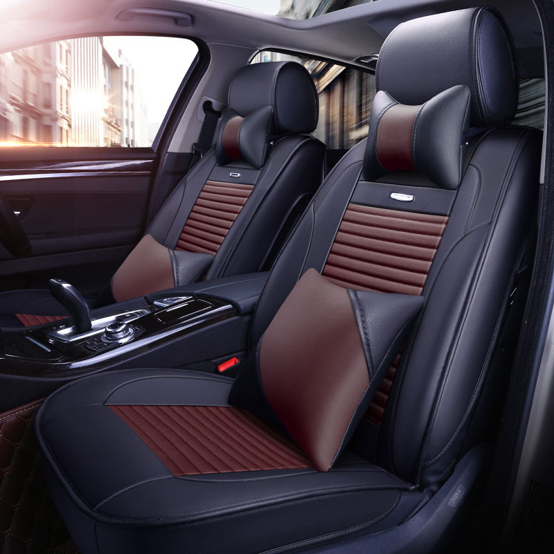 luxury Car Seat cover for fiat palio panda punto stilo uno tempra Ottimo Sedici 2014 2013 2012 seat cushion covers accessories