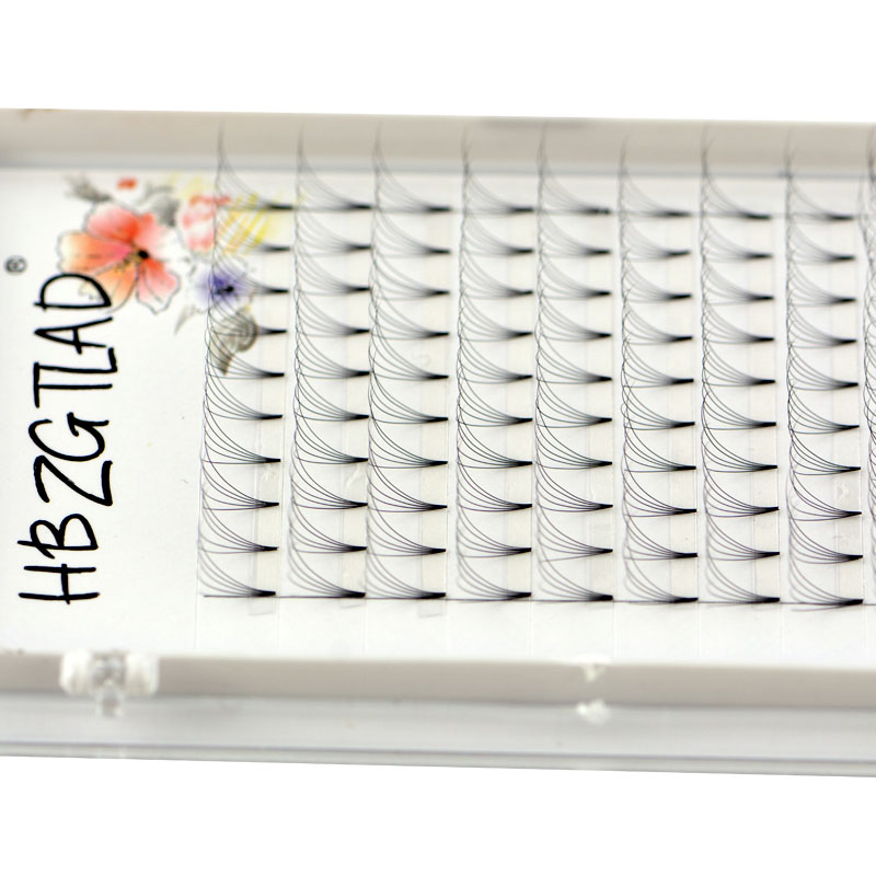 Image 4 - NEW 3D/4D/5D/6D/10D Russian Volume Eyelashes Extension Short Stem Pre made Fans C/D curl Mink Lash Eyelash Individual Extensions-in False Eyelashes from Beauty & Health