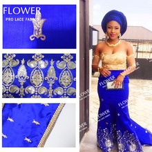African High Quality Nigerian George Lace Fabric