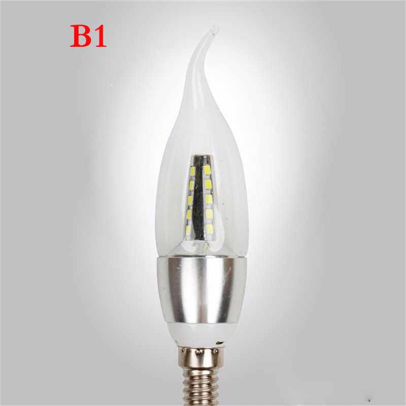 1/10X E14 Led Candle Light Bulb 220V Energy Saving Bulb Lamp LED Bombilla Decorativas Ampoule Led Lamp 7W 9W Led Lights for Home