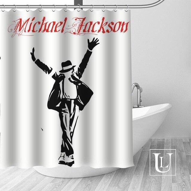 11 Shower Curtain Michael jackson shower curtain jackson galaxy 5c64f7a44ec73