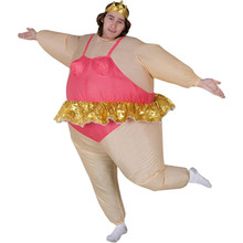 Adult Costume Self Inflatable Funny Ballerina Top Seller
