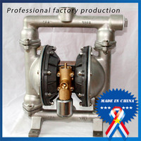QBY 15 304 stainless steel pneumatic pickles diaphragm pump with diaphragm