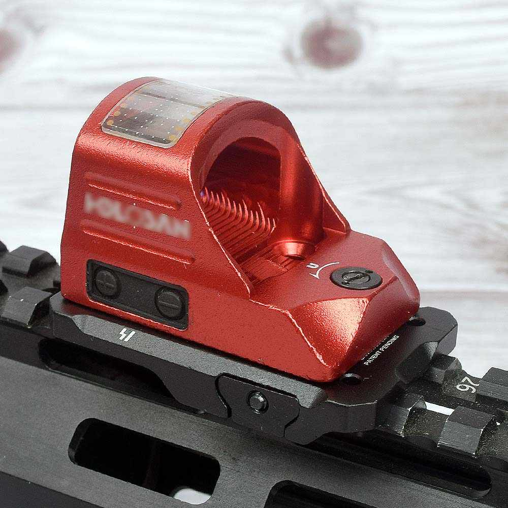Nieuwe Solar Red Dot Sight Trijicon RMR Docter Holografische Scope Riflescope met Mounts voor 20mm Rails voor Airsoft