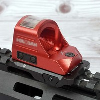 New Solar Red Dot Sight Trijicon RMR Docter Holographic Scope Riflescope with Mounts for 20mm Rails for Airsoft
