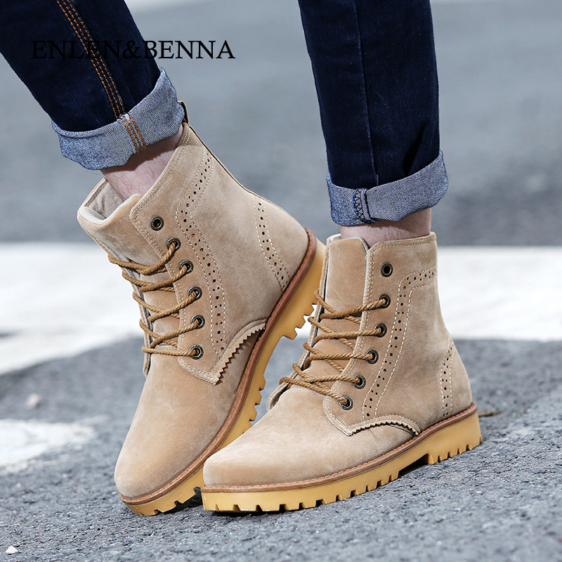 GOXPACER 2016 New Autumn And Winter Vintage Women Boots Unisex Lover Women Shoes Girl Boots Lacing British Style Plus Size 2016 new mori girl national trend loose plus size with a hood denim autumn and winter women medium long plus cotton thick vest