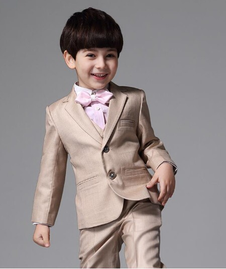 Kids Formal Suit Baby Boy Attire 2017 Korean Wedding Suits Little