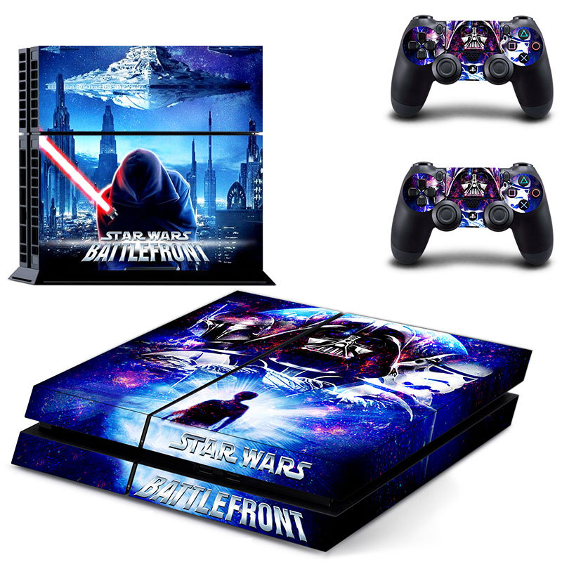 Ps4 Video Games & Consoles Learned Star Wars Boba Fett Vinyl Skin Sticker Decal Protector For Playstation 4 Video Game Accessories
