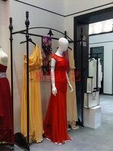 Кованого железа свадебное платье одежда самолета высокого класса свадебное платье магазин одежды дисплей стойки платье вешалка полка бутик
