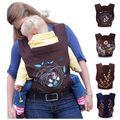 Alta qualidade 4 Designs Mei Tai Baby Carrier / padrão de Design de moda Baby Sling / ergonômico Baby Carrier para 0 - 3 anos infantil