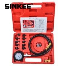 12 pezzo di Kit per il Test di Pressione Olio Motore Tester Auto Garage Strumento di Olio Basso Dispositivi di Allarme SK1267