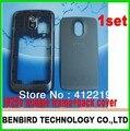 1 компл. свободный корабль задняя Крышка Аккумулятора + ближний рамка Для Galaxy Nexus i9250 черный ESX06110186 + ESX06110187