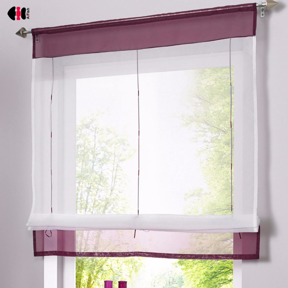 Honesty Roman Curtain Tulle Hot Sell Coffee Curtain Kitchen Short Curtain Semi-shade Small Blinds Dl003c Quality First Curtains