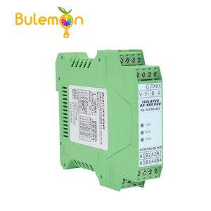 Image 1 - 485 Hub 4 ports Isolation optique 1 voie RS232 à 4 voies RS485 Module de Type Rail de moyeu de qualité industrielle