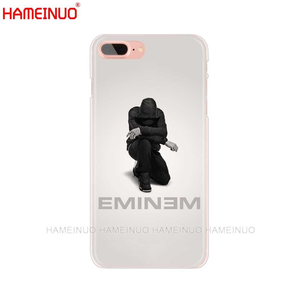 HAMEINUO исполнитель хип-хоп, рэппер Эминем rap для мобильного телефона чехол для iphone X, 8, 7, 6, 4 4S 5 5S SE 5c 6s плюс