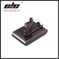 22.2 v 2.0ah li-ion eleoption 새로운 교체 용 진공 청소기 배터리 dyson dc35 type b 6 셀 용 충전식 배터리 팩