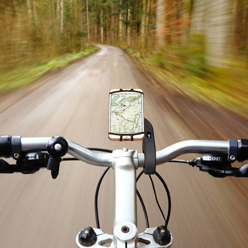 Bike Phone Holder Made With Nylon And Silicone Material For Bike And Motorcycles 1