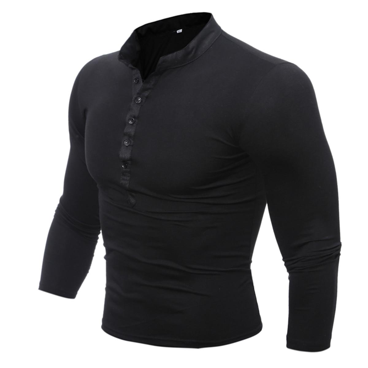 Gray 96407-18VM   M L Harley-Davidson Men/'s Long Sleeve Henley Shirt