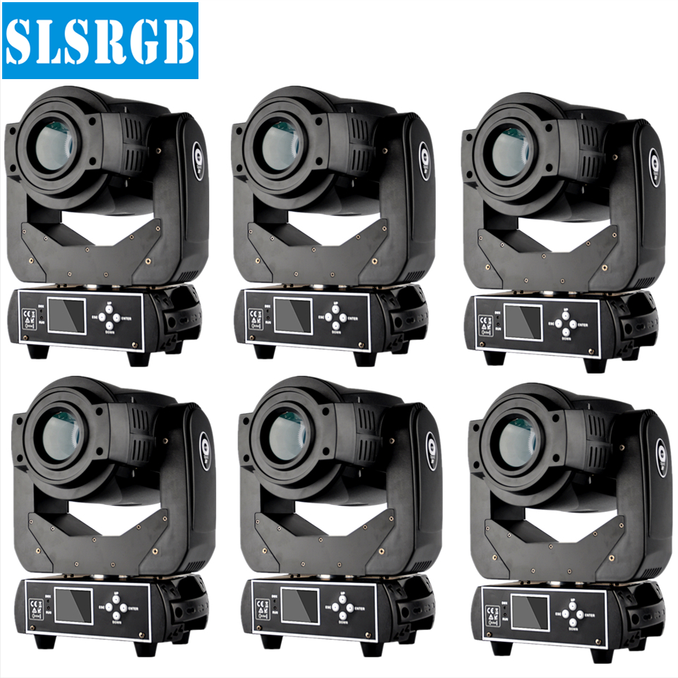 6pcs/lot Factory price good 90w moving head light led beam spot light with gobo Dj Equipment 90W Led Moving Head Light Rotating 8pcs lot free shipping best lighting led moving head spot led 90w moving heads factory price