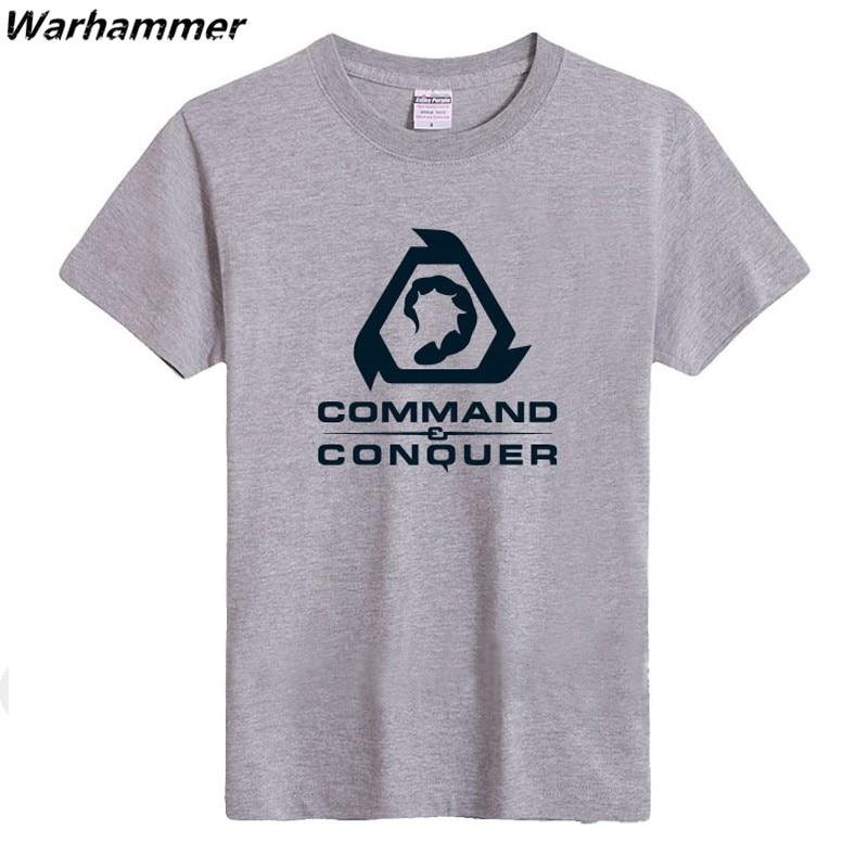 Command Conquer Տղամարդկանց վերնաշապիկ - Տղամարդկանց հագուստ - Լուսանկար 2