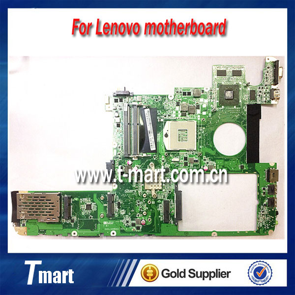 100% Original laptop motherboard DAKL3AMB8G1 for Lenovo Y560 non-integrated in good condition fully tested working well free shipping for dell e6510 laptop motherboard mainboard cn 0ncpcn al22 la 5573p non integrated fully tested good condition
