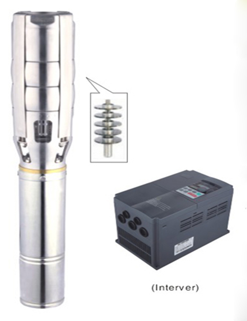 FREE SHIPPING Inverter DC 380V 7500W solar centrifugal submersible pump max.flow 68m3/h 3 years warranty 6SPSC68/58-D380/7500 free shipping ss316 dc submersible solar pump solar water pump 1 cbm hr 30m model 3sps1 0 30