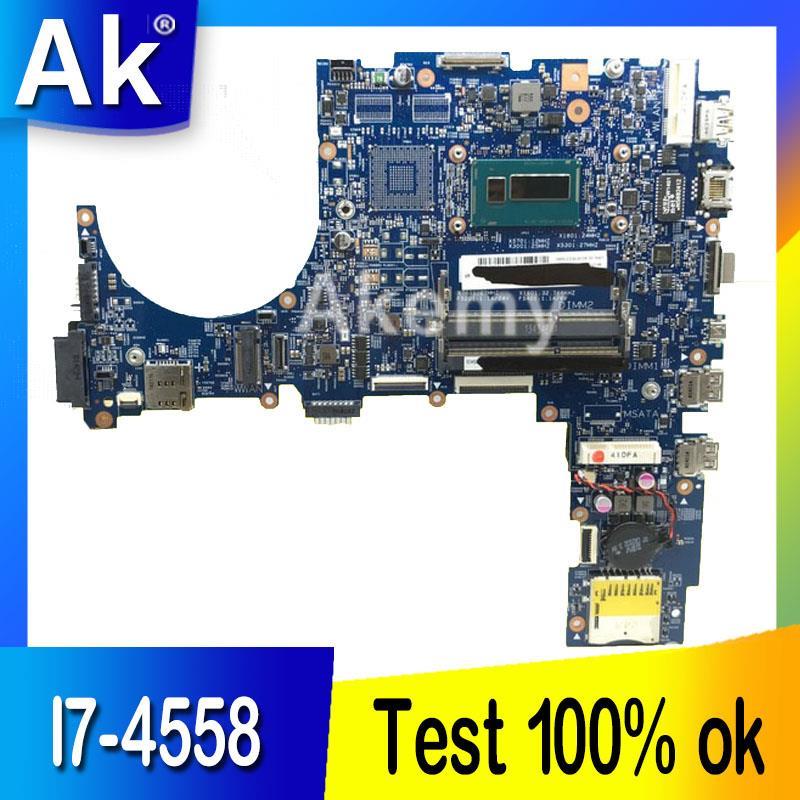 AK B551LA Laptop motherboard I7 4558 CPU for ASUS B551LA Test mainboard B551LA B551L motherboard test