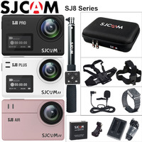 SJCAM SJ8 Pro Action Camera Deportiva 4K WiFi SJ8 Plus Extreme Sports DV Diving 30m Waterproof SJ8 Air 1080P Outdoor Sport Cam
