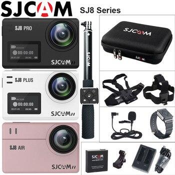 SJCAM SJ8 Pro Eylem Kamera Deportiva 4 K WiFi SJ8 Artı Aşırı Spor DV Dalış 30 m Su Geçirmez SJ8 Hava 1080 P Açık spor kamerası