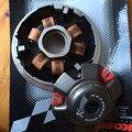 KOSO High Performance Variador Set com Rolos De Cobre Para A Maioria Dos Chineses GY6 50cc Scooter Honda Dio ZX Peça De Reposição + Frete Grátis