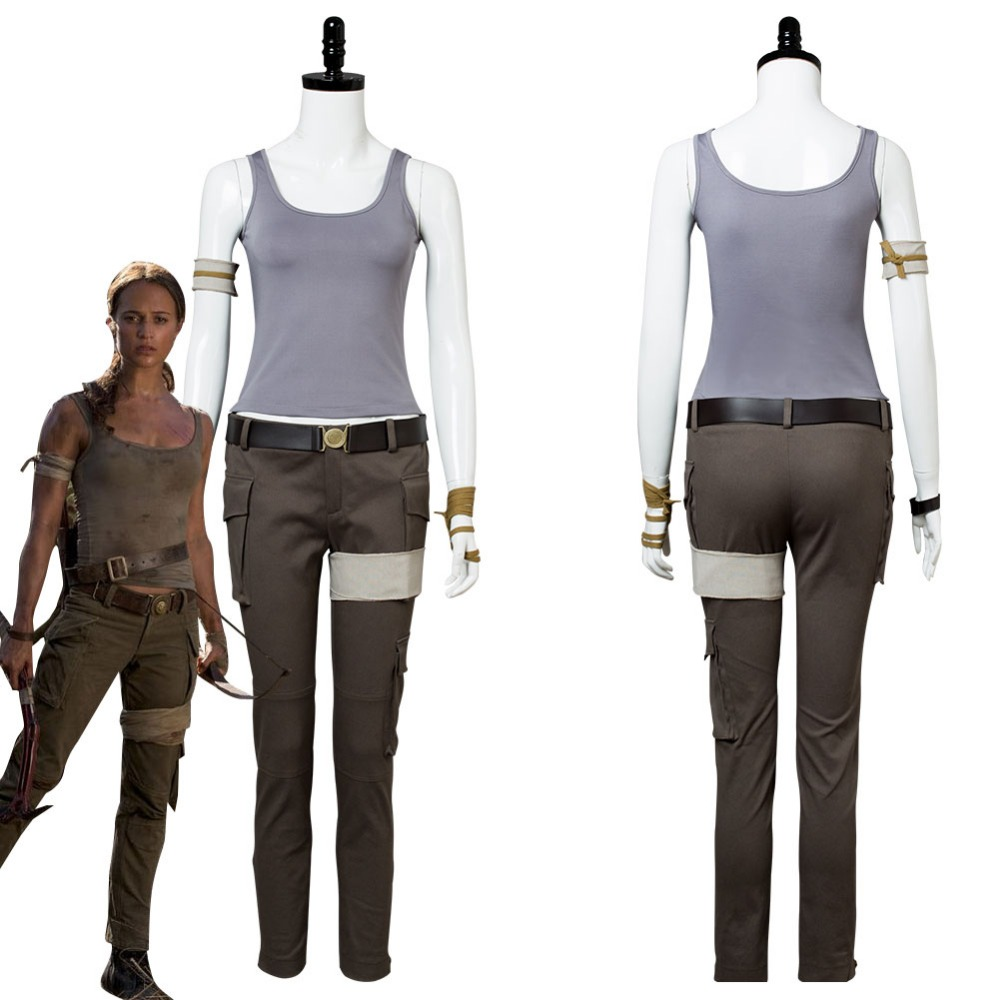 2018 Tomb Raider Costume Lara Croft Cosplay Costume Halloween Uniform Outfit Suit Tomb Raider Costume Cosplay Costumecostume Halloween Aliexpress