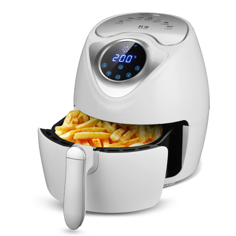 Household Electric Air Fryer Oil Free And Smokeless High Quality 220V Electric Multifunctional Fryer EU/AU/UK/US Plug konka microcomputer intelligent control air fryer 2 5l smokeless electric air fryer french fries machine non stick fryer 220v eu