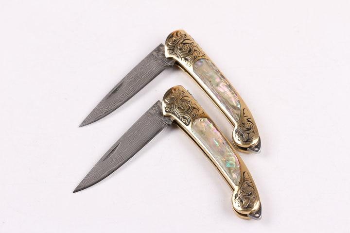 Uus stiil Käepideme korpus Puhas käsitsi Damaskuse nuga Mustriga - Käsitööriistad - Foto 5